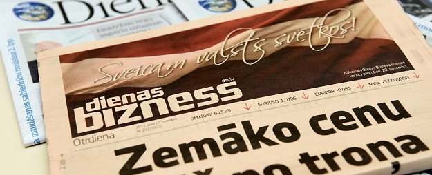 Novembrī reģionālo laikrakstu abonentu skats samazinājies par 7,8%