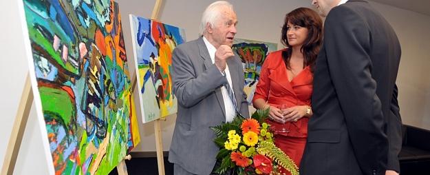 Daugavpilī atklās māksliniekam Valdim Bušam veltītu gleznu izstādi