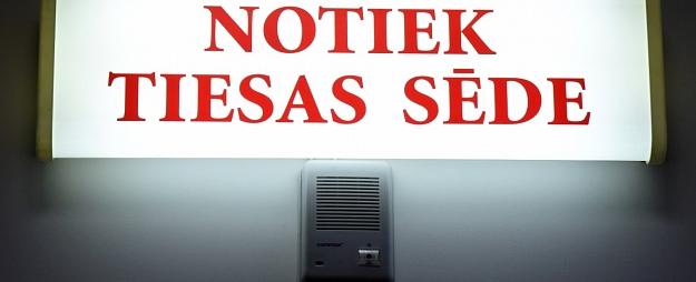 Apsūdzētā slimības dēļ tiesa pārcēlusi lietu par Rēzeknes uzņēmēja Lucatnieka slepkavību