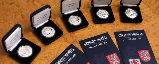 papildināta - Jaunā kolekcijas monēta
