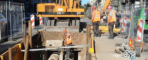Ūdensvada izbūvi Jaunciema gatvē plāno pabeigt līdz martam