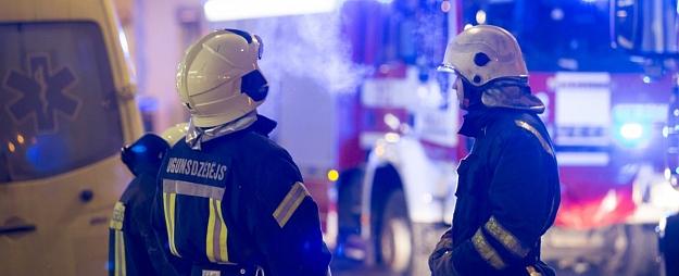 Tukuma novadā ugunsgrēkā cietis viens cilvēks
