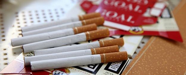 Liepājas Pašvaldības policija no divām sievietēm konfiscē 73 nelegālo cigarešu blokus