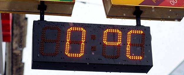 Gaisa temperatūra Latvijā aptuveni nulle grādu