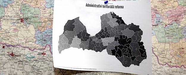 Valdība dod zaļo gaismu teritoriālās reformas turpināšanai, līdzšinējo 119 pašvaldību vietā izveidojot 36