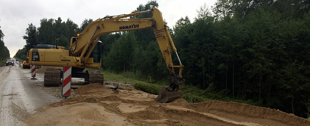 Par 10 500 eiro atjaunots ceļš Mežaparkā Jēkabpilī
