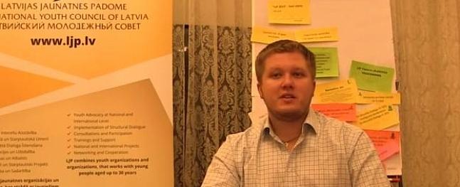 Jauniešu nevalstiskās organizācijas aicina atbalstīt savu pārstāvi Mārtiņu Šteinu Memoranda padomei