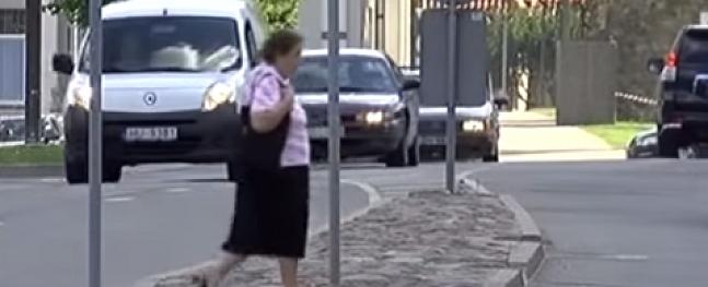 Valmierā aicina ziņot par agresīviem autobraucējiem