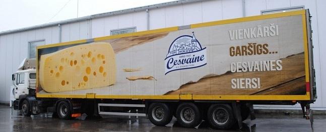"""Riga Food 2015"" apbalvo ""Cesvaines pienu"""