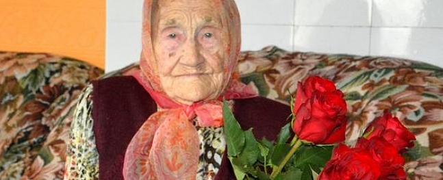 Vecākā Valmieras iedzīvotāja svin 101.jubileju
