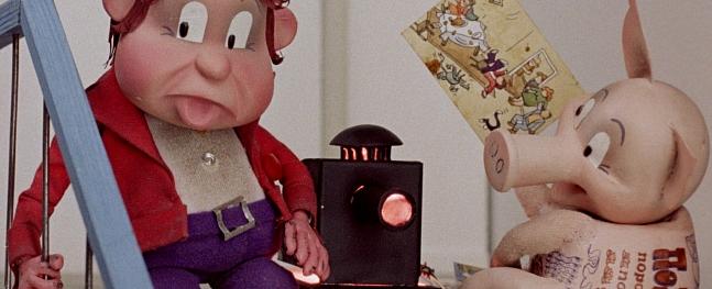 Valmieras Kultūras centrā demonstrēs Arnolda Burova animācijas filmas