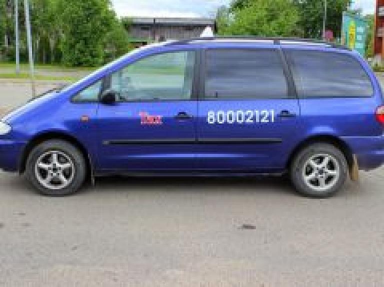 """""""Tornis Taxi"""" - ātri un ērti septiņvietīgu taksometru pakalpojumi Valmierā"""