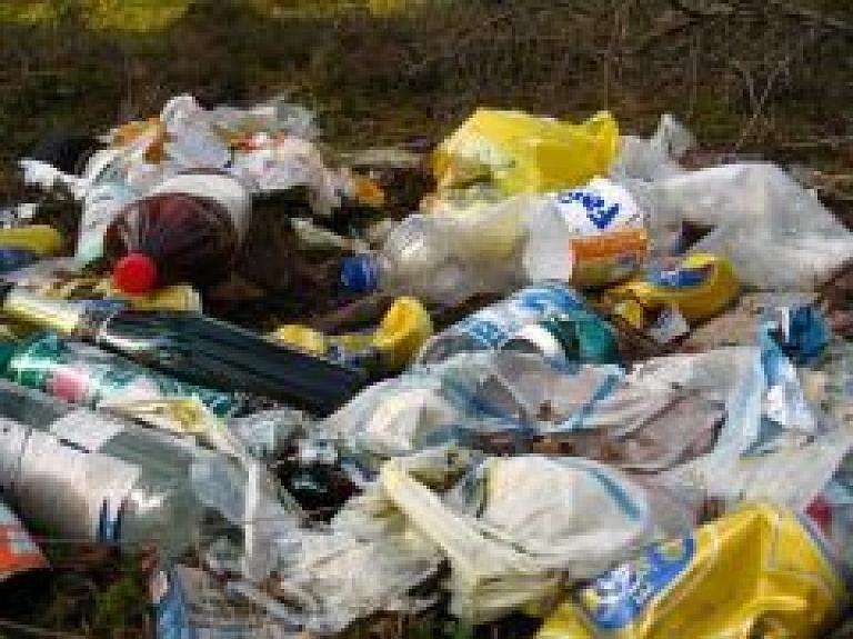 Vārkavas novadā un Saunas pagastā notiks atkritumu izvešanas akcija
