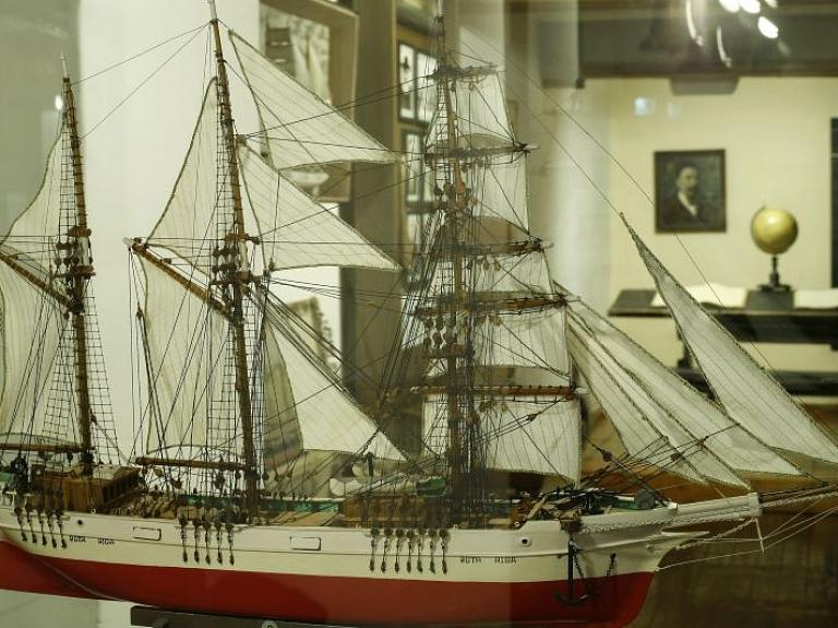 Ainažu jūrskolas muzejs – latviešu profesionālās jūrniecības šūpulis