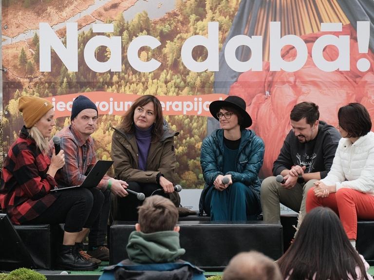 Pagājušajā nedēļā aizvadīta Latvijā pirmā piedzīvojumu un dabas terapijas konference