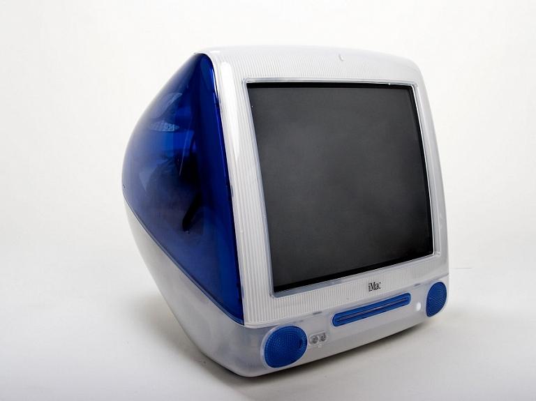 Attēlā: iMac G3