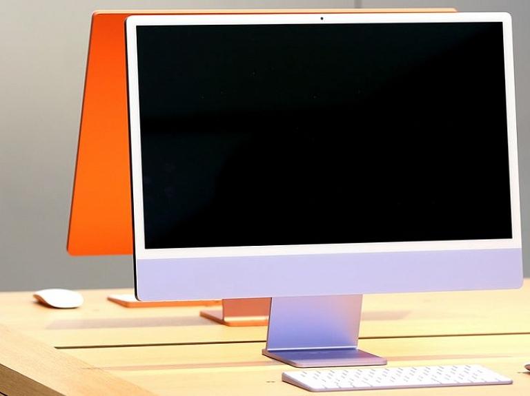Attēlā: Apple iMac M1