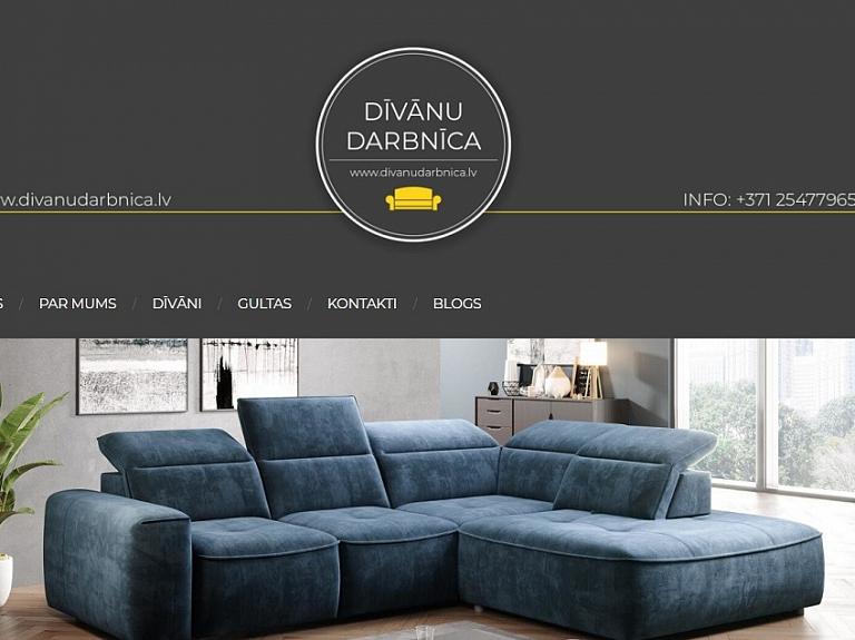 Lieliski dīvāni pēc individuāla pasūtījuma
