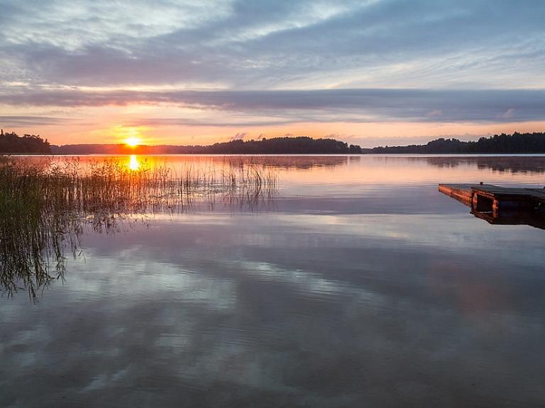 Latgales augstienei raksturīgās ainavas – Dridzis un Dridža ezera dabas parks