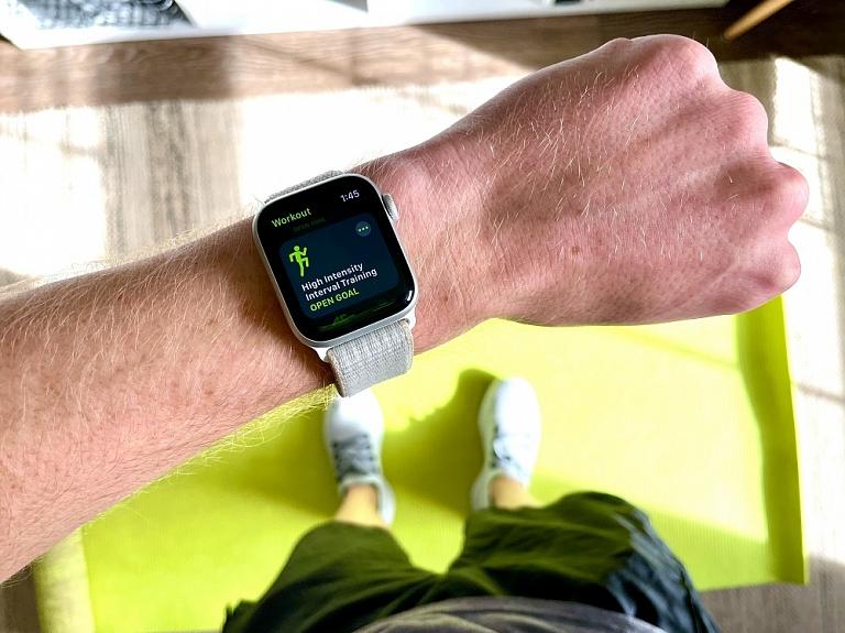 Radi dinamiskāku ikdienu ar jauno Apple Watch viedpulksteni