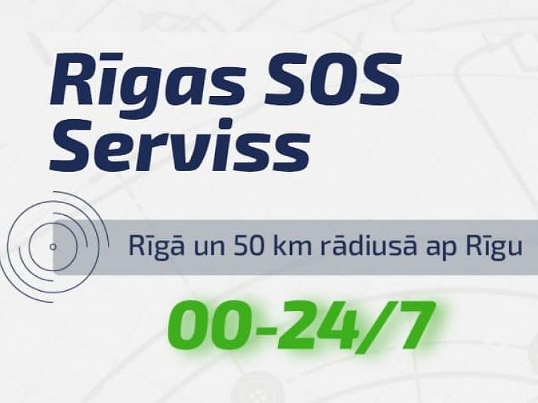 Auto durvju atvēršana Rīgā