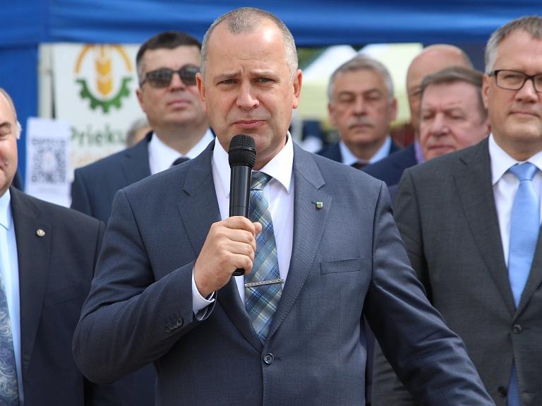 Valmieras pilsētas pašvaldības domes priekšsēdētājs Jānis Baiks