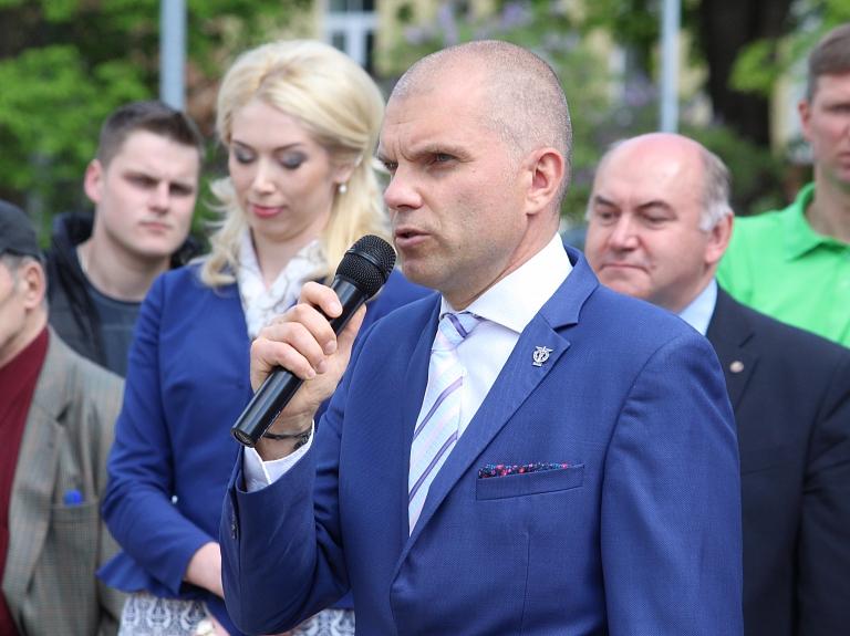 Latvijas Tirdzniecības un rūpniecības kameras Padomes priekšsēdētājs Aigars Rostovskis
