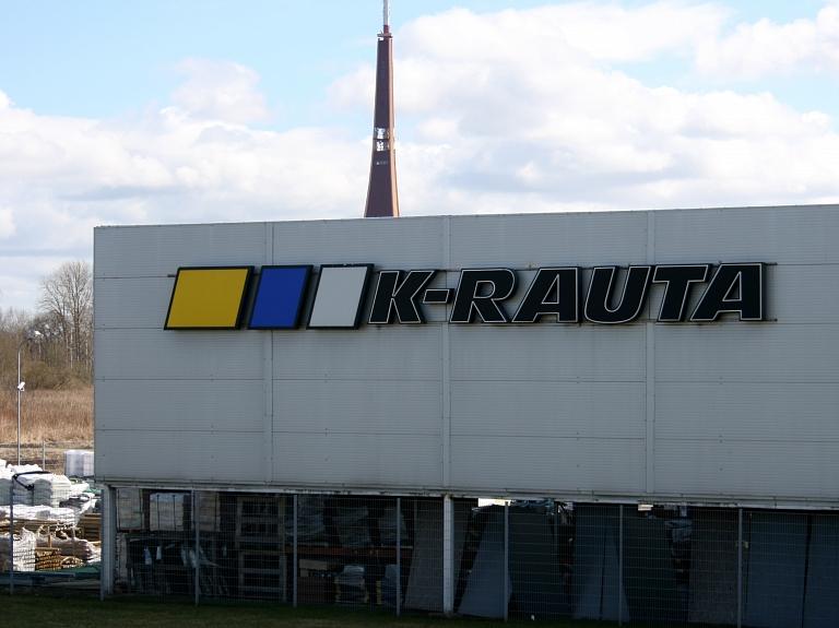 """""""K-rauta"""" pārveidei par """"K Senukai"""" Ulmaņa gatvē investēs trīs miljonus eiro"""