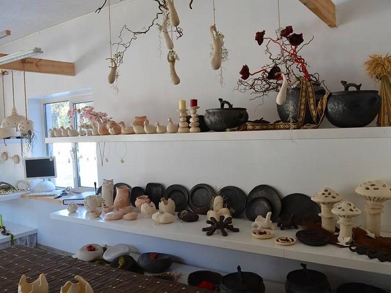 """Keramikas darbnīca """"Saules ceplis"""""""
