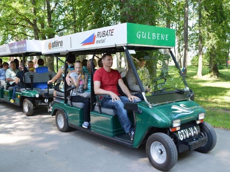 Ekskursiju tūre ar Gulbenes elektrovilcieniņu