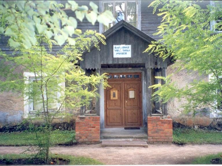 Druvienas vecā skola - muzejs