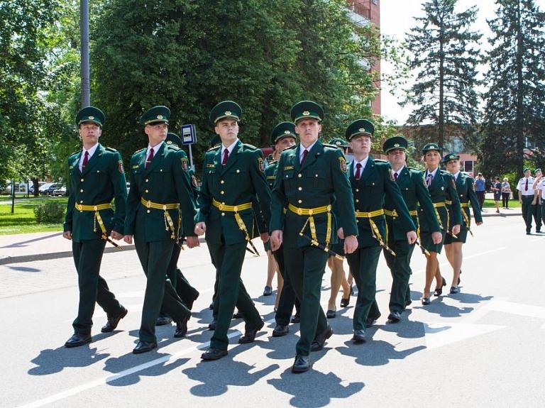 Valsts robežsardzes koledžā norisināsies izlaidums