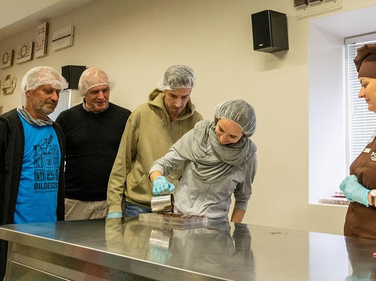"""Šokolādes muzejs Pūre. Foto: Inese Grizāne (no """"BILŽU BIROJA"""" arhīva)"""