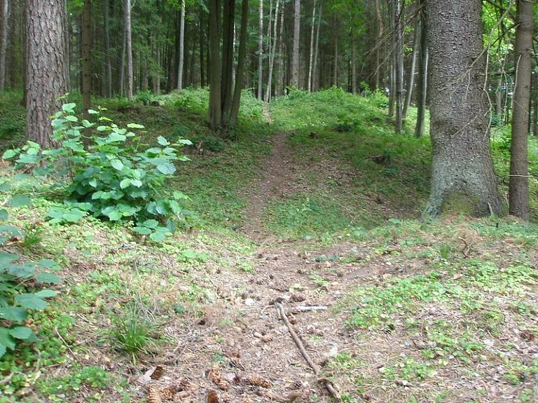 Rušenicas pilskalns – seno latgaļu militārais nocietinājums