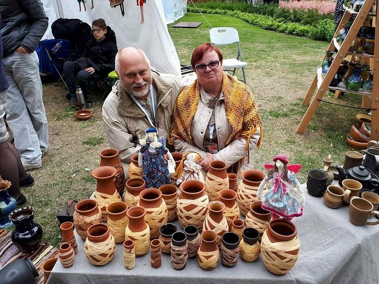 Keramiķu Valda un Olgas Pauliņu darbnīca