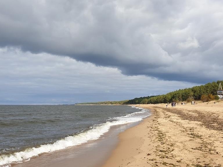 Saulkrastu pludmale
