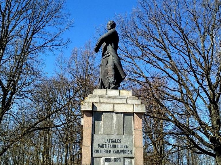 Piemineklis Latgales partizānu pulka kritušajiem karavīriem