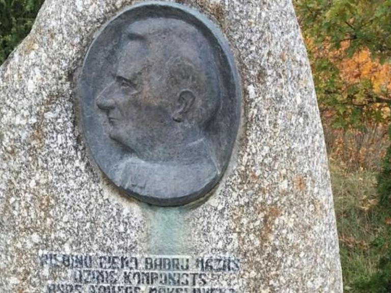 Komponista I.Ivanova piemiņas akmens