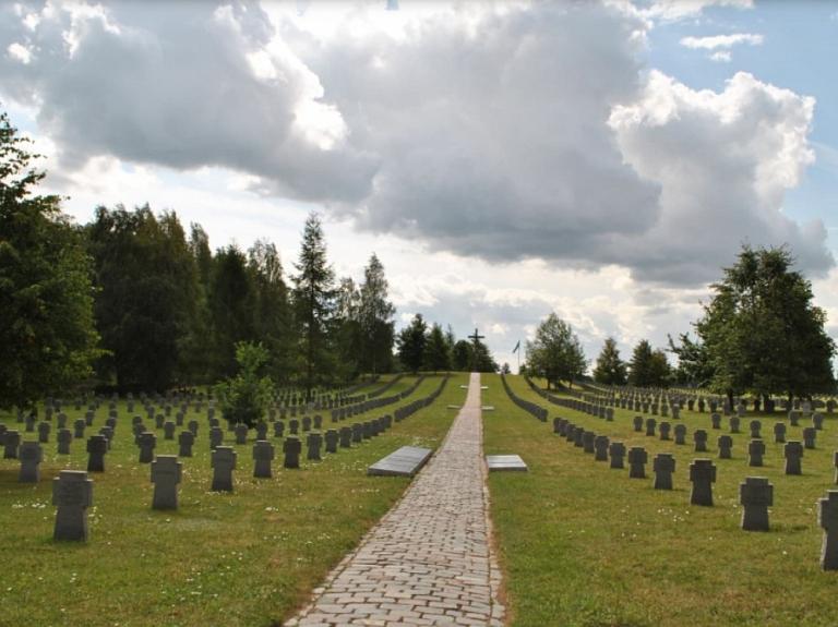 Saldus vācu karavīru kapi