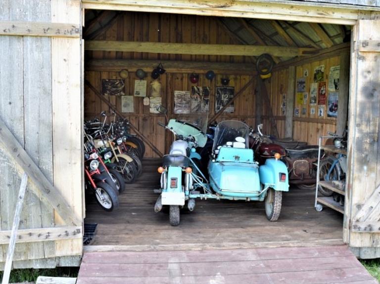 """Senlietu un motociklu kolekcija """"Cīrulīši"""""""