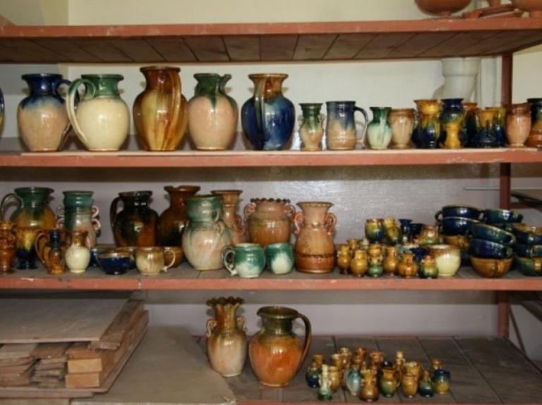 Jāņa Seiksta keramikas darbnīca