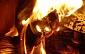 Latgalē dzēris vīrietis guvis apdegumus, iemetot ugunskurā šaujampulveri