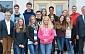 Valmierā ciemojas Halles ģimnāzijas skolēni un pedagogi