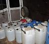Foto: Valsts policija Maija mēneša izskaņā Valsts policijas darbinieki Liepājas apkārtnē atsavināja aptuveni divas tonnas nelegālā alkohola.