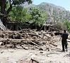 AFP/ ELTA|Musonu lietusgāžu izraisīti plūdi Pakistānas ziemeļos prasījuši vismaz 43 cilvēku dzīvību.