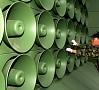 EPA/ LETA|Dienvidkoreja plāno dubultot skaļruņus propagandas pārraidīšanai pie Ziemeļkorejas robežas.