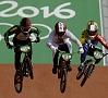 Foto: AFP/ LETA|Riodežaneiro olimpisko spēļu BMX riteņbraukšanas trase nebija parocīga divkārtējam olimpiskajam čempionam Mārim Štrombergam, kas arī nav ļāvis titulētajam latvietim sasniegt Olimpiādes finālu.