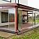 Līmētā masīvkoka veranda ar stiklojumu