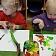 """""""Maziņš kā jūra"""" bērni ir mākslinieki."""