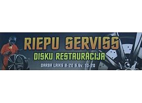 ORDEGS, SIA – Riepu serviss, disku restaurācija